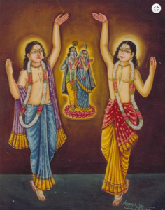 lord chaitanya and radha krsna